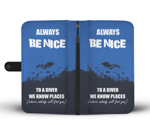 Be Nice wallet phone case - Beelat Sydney