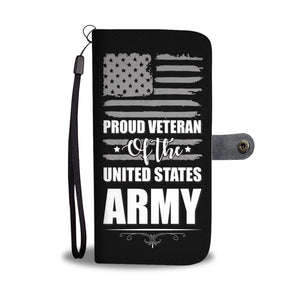 USA army wallet phone case - Beelat Sydney