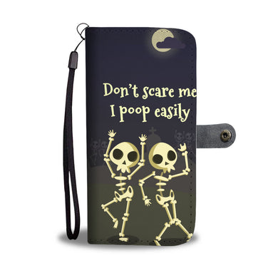 Don't scare me Wallet Phone Case - Beelat Sydney