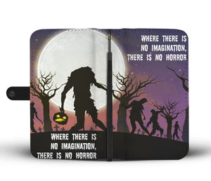No Horror RFID Safe Wallet Phone Case