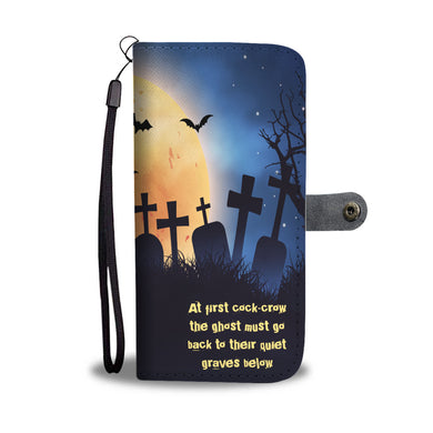 Halloween Series Wallet Phone Case