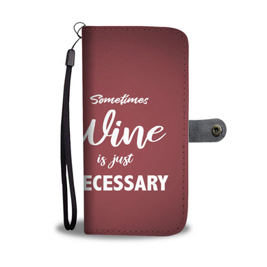 Sometimes Wine Custom wallet phone case - Beelat Sydney