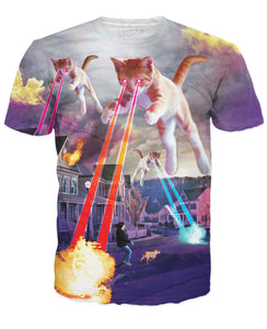 Kitten Invasion T-Shirt - Beelat Sydney