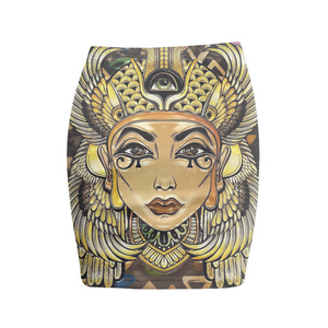 Egyptian Mummy Mini Skirt - Beelat Sydney