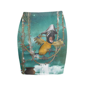 Flying Bird Mini Skirt - Beelat Sydney