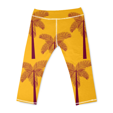 Coconut Tree Yoga Pants - Beelat Sydney