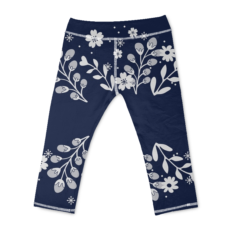 Blue in a Forest Yoga Pants - Beelat Sydney