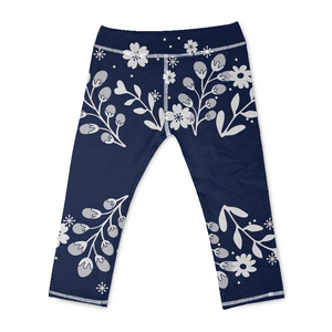 Copy of Blue in a Forest Yoga Pants - Beelat Sydney