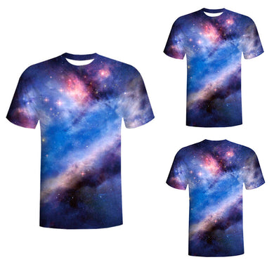 Stars in 3D Mens T-Shirt - Beelat Sydney
