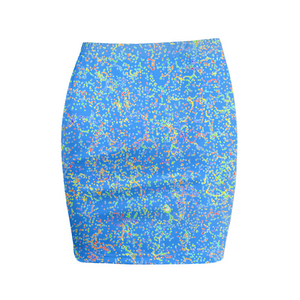 Blue in Life Mini Skirts - Beelat Sydney
