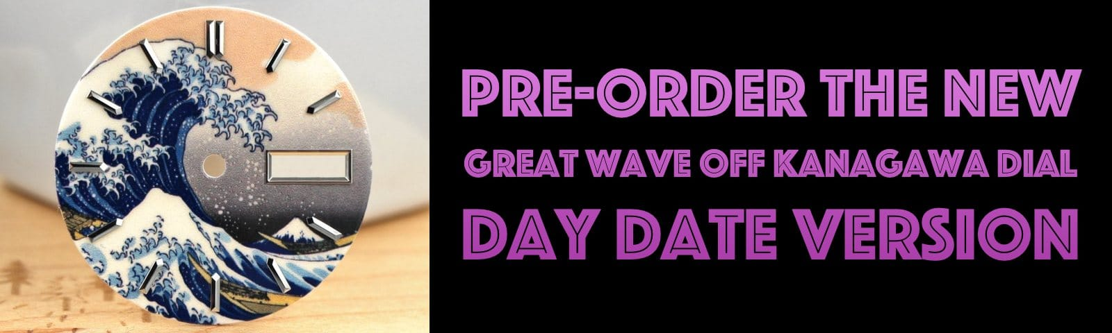 Pre-Order The New Day Date Dial Variant!