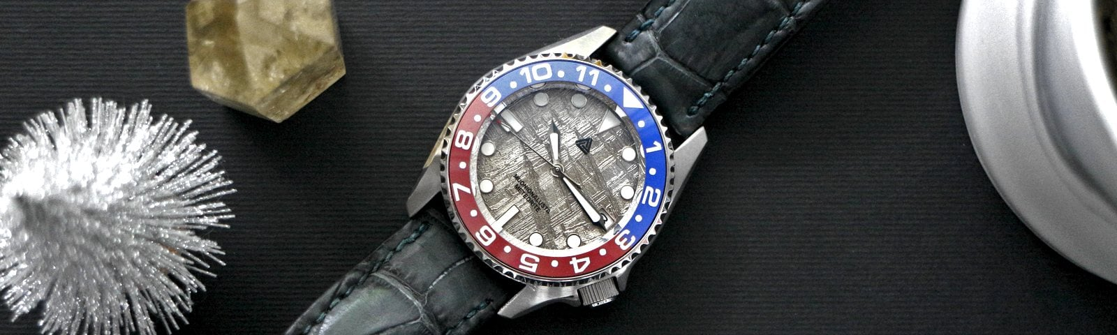 SWISS MADE Pepsi Ceramic Bezel Insert