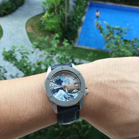 100% Swiss Super-LumiNova BGW9 The Great Fathom Hands - SEIKO Mod Parts | Lucius Atelier