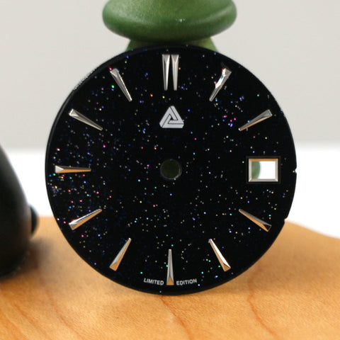 Enamel Stardust Dial (Date) - SEIKO Mod Part by Lucius Atelier