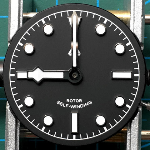 Aligning the hands - [TUTORIAL] How To Modify Your SEIKO Watch - Dial and Hands by Lucius Atelier