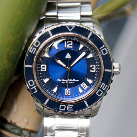 SEIKO 5 Sports SNZH53 The Great Fathom Mod - Blue by Lucius Atelier