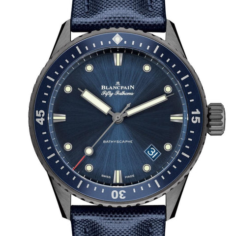 Blancpain Fifty Fathoms Paddle Hands
