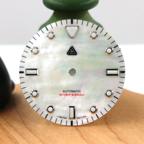 Highest Grade AAA Mother of Pearl Diver's Dial (No Date) - SEIKO Mod Part by Lucius Atelier