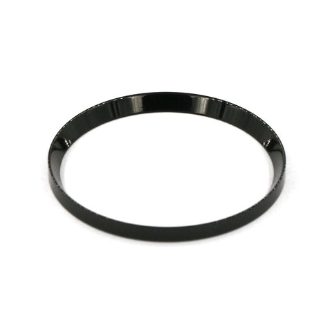 SKX007 Mirror Polished Black Chapter Rings | 316L Stainless Stain - SEIKO Mod Parts