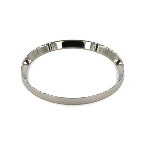 SKX007 Mirror Polished Silver Chapter Rings | 316L Stainless Stain - SEIKO Mod Parts