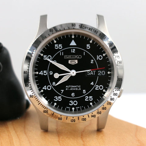 The Sliver Tachymetre Bezel for SNK803, SNK805, SNK807, SNK809, SNK811 and 7S26-02J0 watch cases