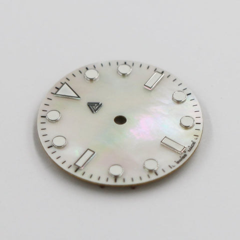 Submariner Dial - Mother of Pearl Edition (No Date) | A SEIKO Mod Part by Lucius Atelier