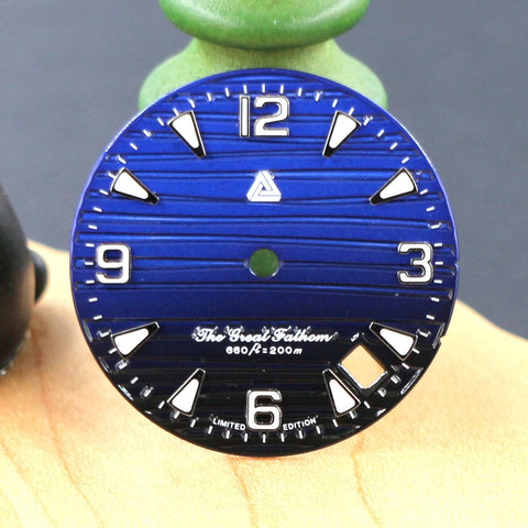 The Great Fathom Dial - Save The Ocean - A SEIKO Mod Part by Lucius Atelier