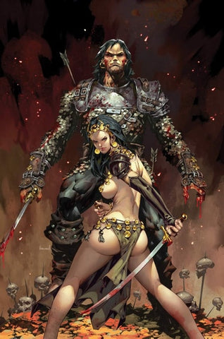 Cimmerian: Queen of the Black Coast #1 - CK ECCC Exclusive Virgin Cover - Kael Ngu