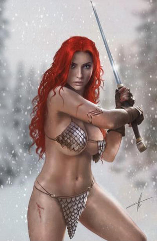 Red Sonja: Age Of Chaos #2 - CK Exclusive C2E2 Cover - Carla Cohen