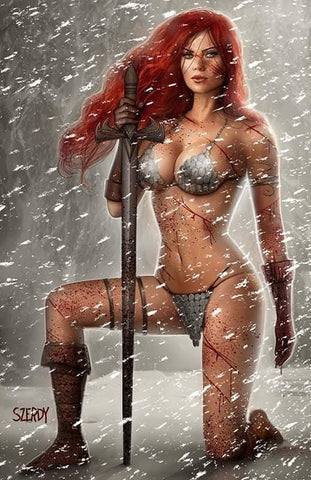 Red Sonja: Age Of Chaos #2 - C2E2 Exclusive Virgin Cover - Nathan Szerdy