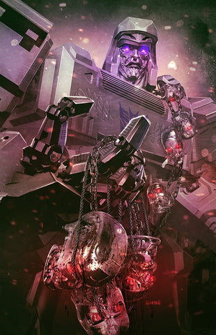 Transformers vs. Terminator #1 - CK Exclusive Cover - John Giang