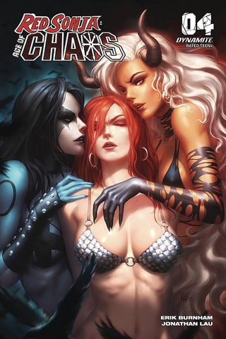 "Red Sonja: Age of Chaos #4 - 1:10 Ratio Variant - Kendrick ""Kunkka"" Lim"