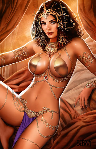 DEJAH THORIS #1 - CK EXCLUSIVE - VIRGIN COVER BY NATHAN SZERDY