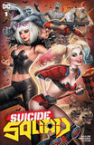 Suicide Squad #1 - Trade Dress, Sketch, Virgin Covers - Nathan Szerdy