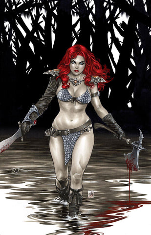 Red Sonja: Age of Chaos #1 - CK Exclusive - Virgin Cover - Mike Krome