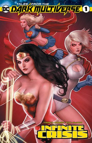 Tales from the Dark Multiverse: Infinite Crisis #1 - Trade, Virgin, Sketch Variants - Nathan Szerdy