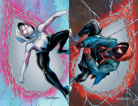 Amazing Spider-Man #59 & Miles Morales: Spider-Man #23 - CK Exclusive Connecting Covers - Tyler Kirkham