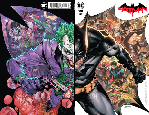 "Batman #100 - Exclusive ""NYCC"" Wraparound Foil Variant - Jorge Jiminez"