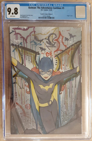 Batman: The Adventures Continue #5 - CK Shared Exclusive - Cover B - CGC 9.8 Graded Slab - Peach Momoko