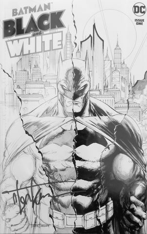 Batman Black and White #1 - Exclusive Variant - SIGNED - Tyler Kirkham