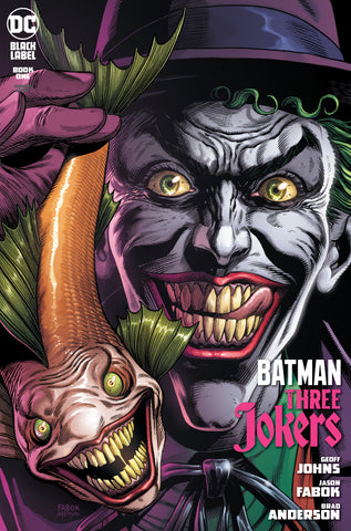 Batman: Three Jokers - Joker Fish Premium Variant B - Jason Fabok