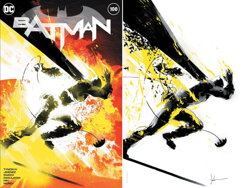 "Batman #100 - Exclusive ""NYCC"" and ""MCM"" Variants - Jock"