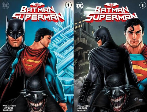 Batman Superman #1 - Dual Cover Set - Ryan Kincaid