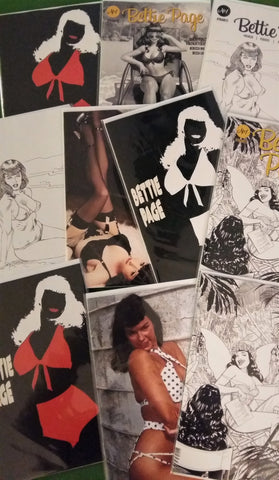 Bundle of Bettie!!! - Bettie Page #1 Ratio Variant Bundles - 10 Ratio Variants!!!
