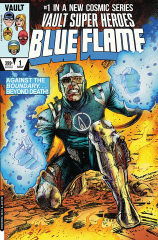 Blue Flame #1 - 1:15 Ratio Variant - Richard Pace