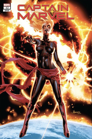 Captain Marvel #12 - Exclusive Variant - Jay Anacleto