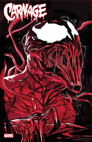 Carnage: Black, White & Blood - Cover A - 03/24/21 - Sara Pichelli