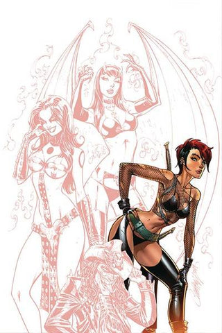 "Chastity #1 - 1:15 Ratio Partially Tinted ""Carve"" Virgin Variant - J. Scott Campbell"