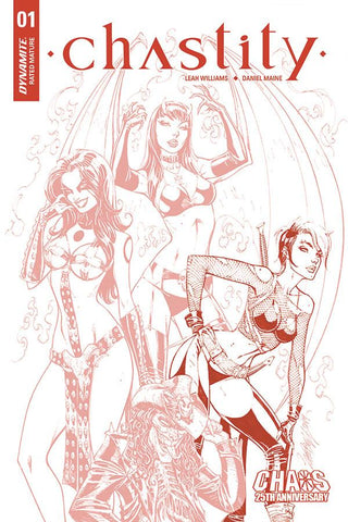 "Chastity #1 - 1:25 Ratio Tinted ""Carve"" Variant - J. Scott Campbell"
