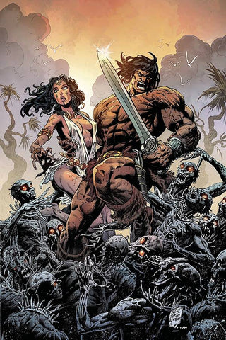 Cimmerian: Iron Shadows in the Moon #1 - 1:10 Ratio Variant - Brian Level